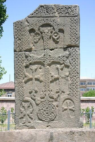 хачкар 9 века