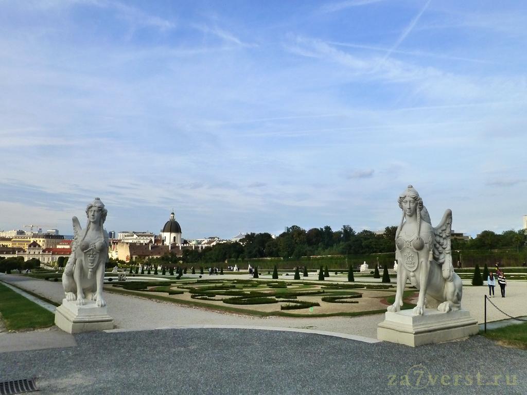 Дворцово-парковый комплекс Бельведер (Вена, Австрия)