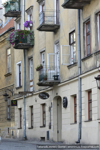 Прогулка по городу. Люблин. Польша