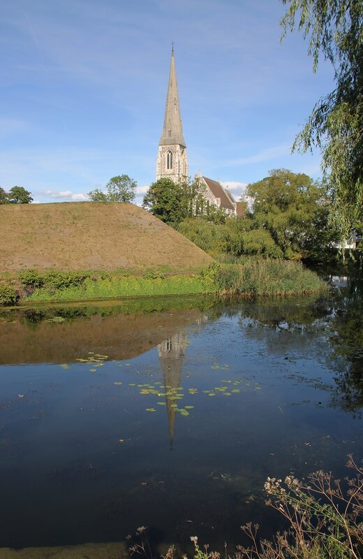 Copenhagen, Churchill Park, Church of St. Alban