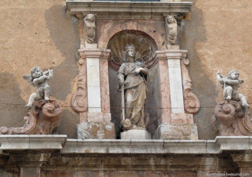 Sicilia. Taormina. Chiesa di Santa Caterina.
