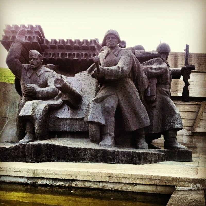 Мемориальный комплекс с Родиной-Матерью