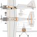 Чертеж модели самолёта Trikon