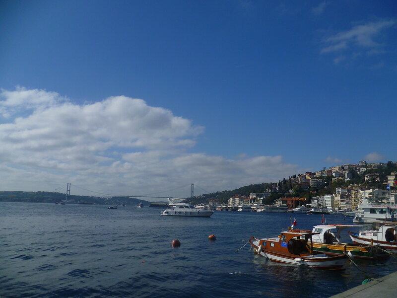Стамбул, набережная Босфора (Istanbul, the Bosphorus quay).