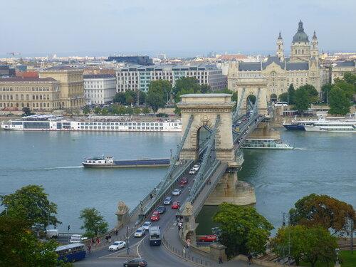 Будапешт, вид от дворца в Буде (Будапешт, вид из дворца в Буде)
