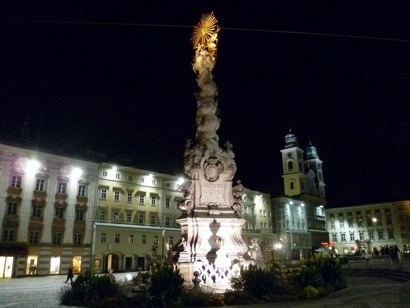 Линц, Австрия - Главная площадь (Linz, Austria - Main Square)