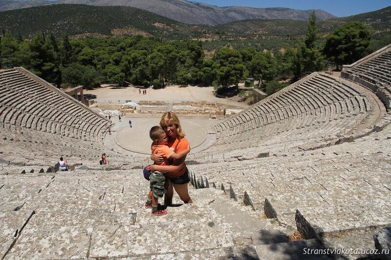 Peloponnes, Epidavros