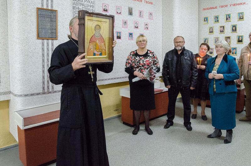 Мероприятие в музее школы № 1 им. В. Дубинина
