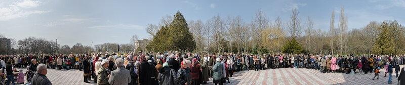 20120408 Вербное воскресенье в храме Андрея Первозванного