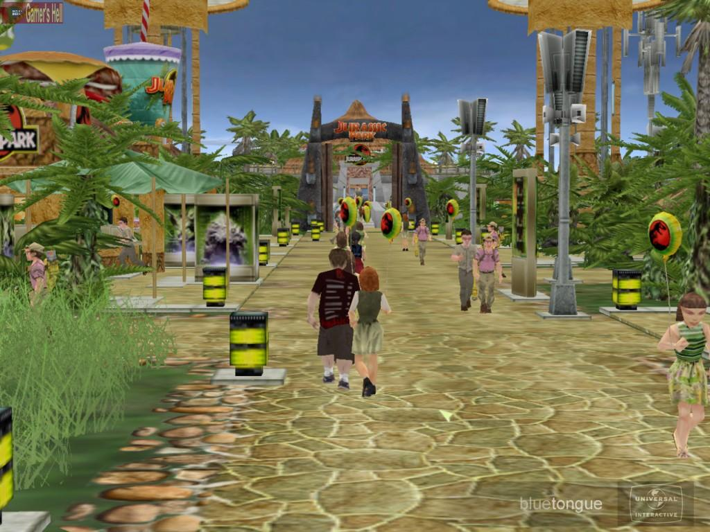 Jurassic park builder game online pc