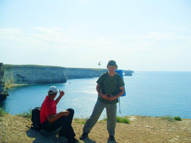 скалистый берег Тарханкута