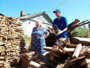 Без дров на зиму пострадавшие дома Приморья не останутся