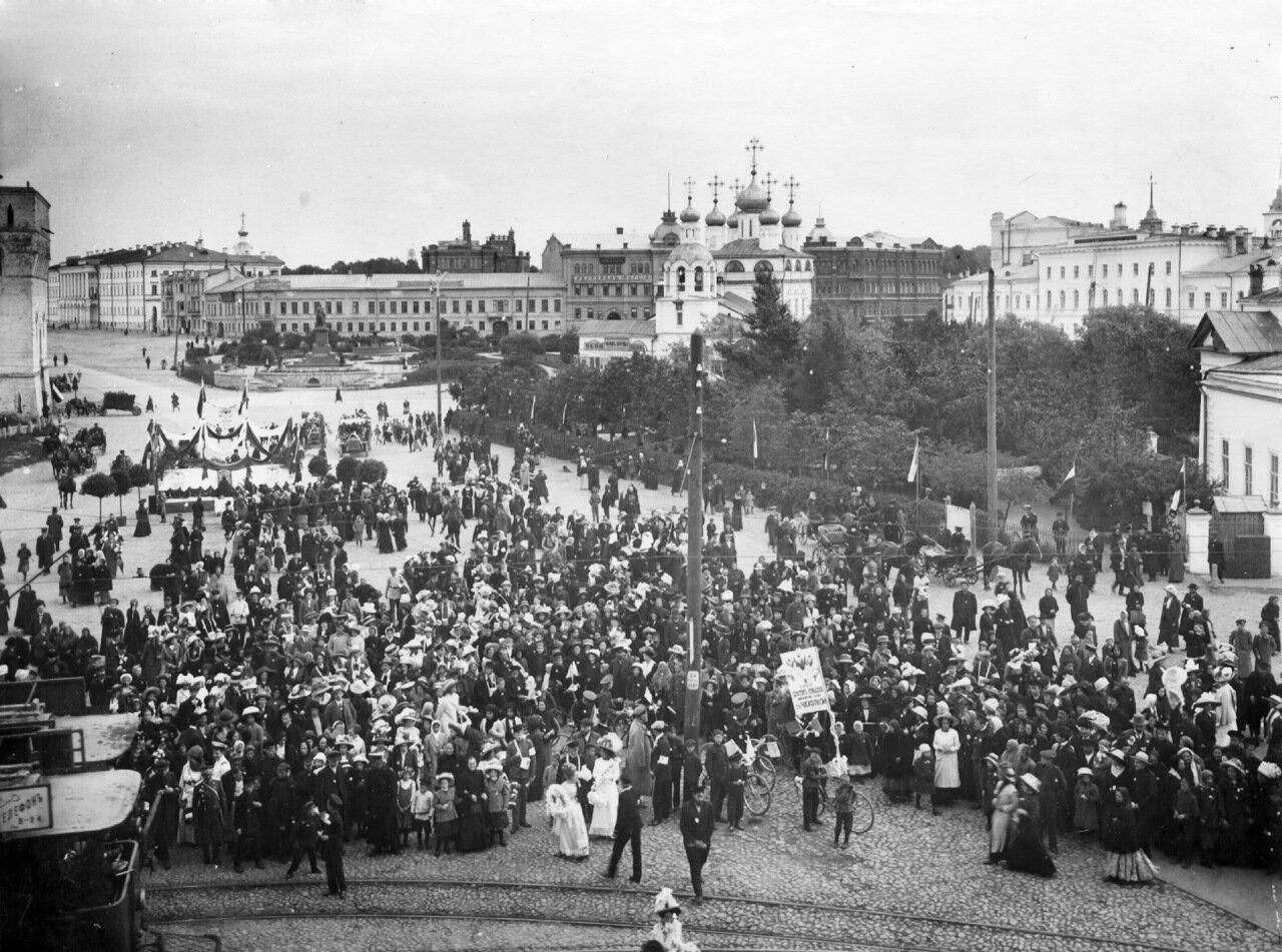 Благовещенская площадь. Рубеж XIX-XX веков