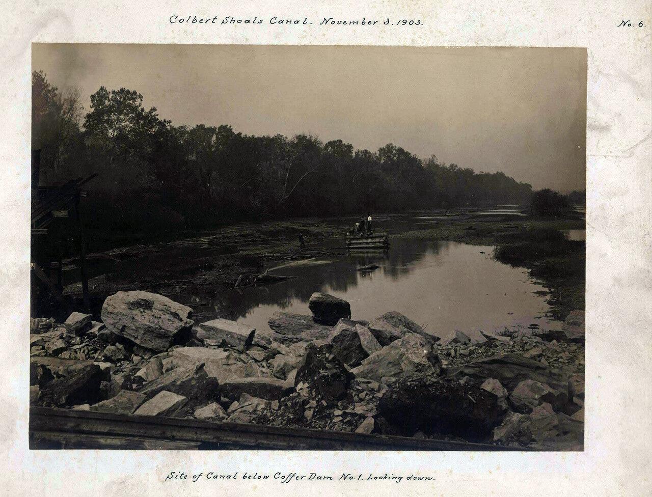 1903. Канал Кольбер-Шолс