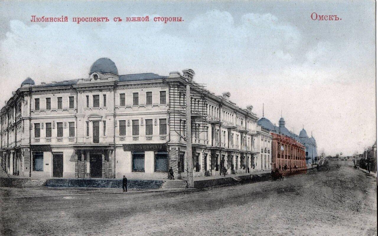 Омск. Любинский проспект с Южной стороны