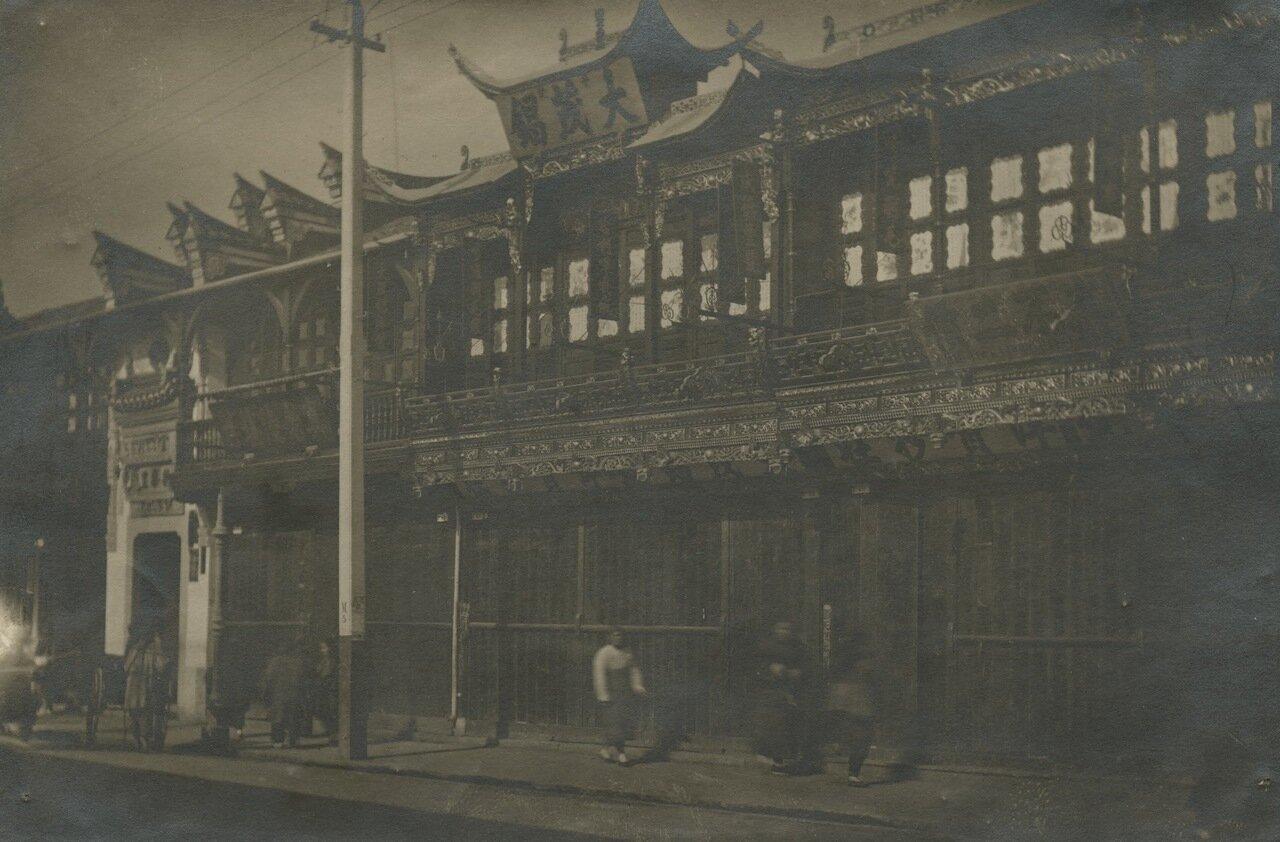 Шанхай начала ХХ века
