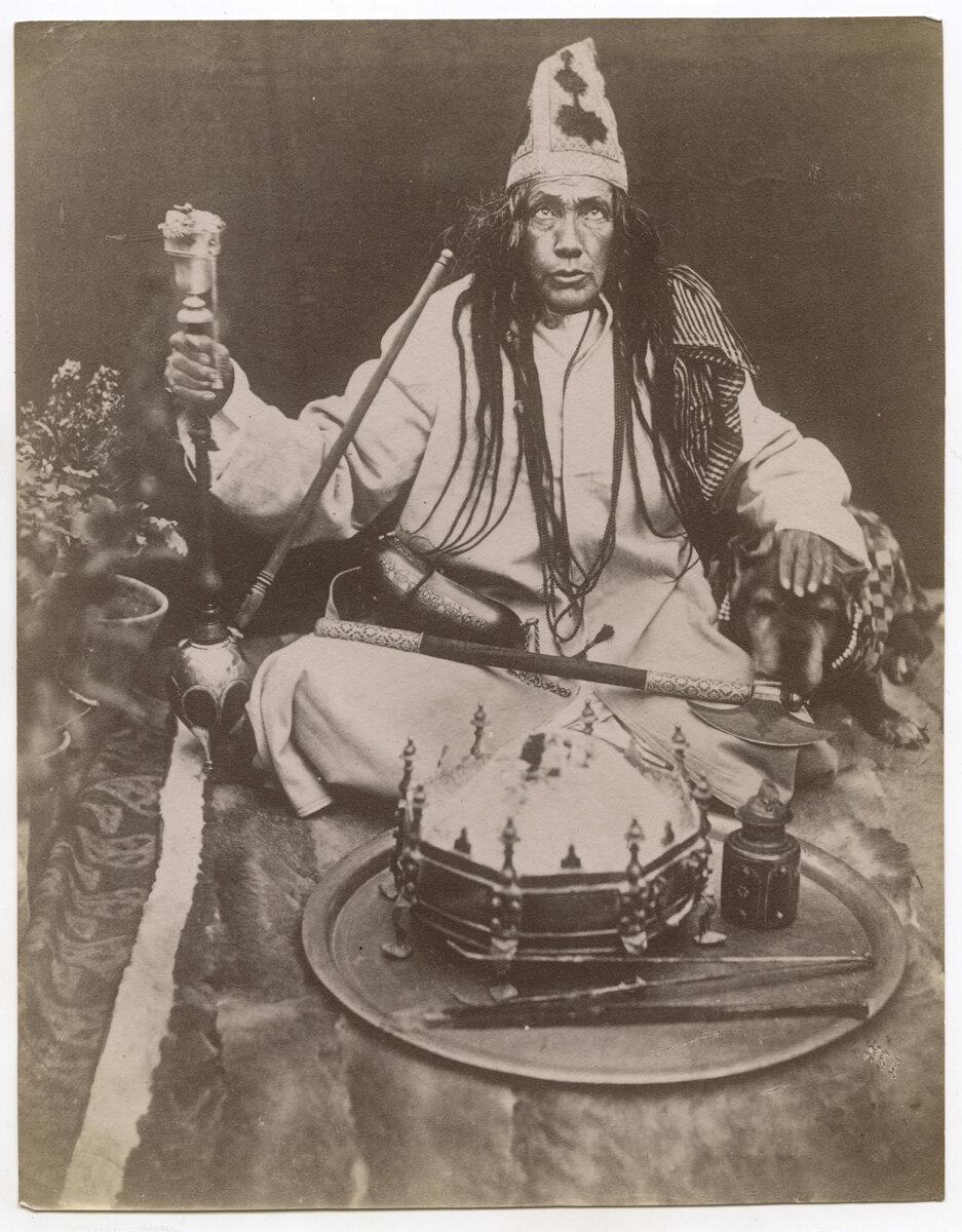Портрет шамана. 1870–90–е.