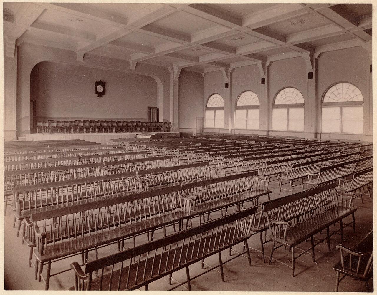 1893. Бостонская Латинская школа, зал О' Брайана