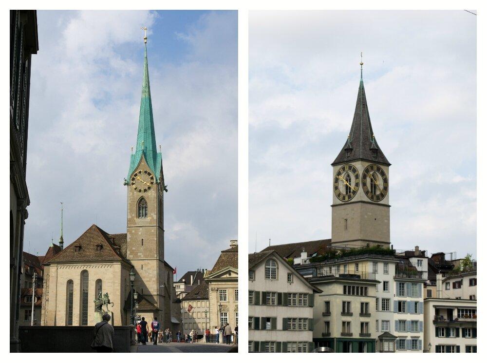 Церковь Святого Петра и Фраумюнстер