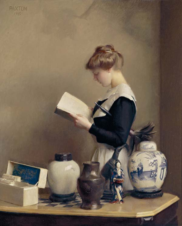 William_McGregor_Paxton,_1910_-_The_house_maid.jpg