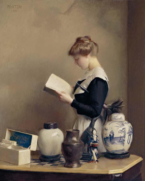 William_McGregor_Paxton,_1910_-_The_house_maid.jpg