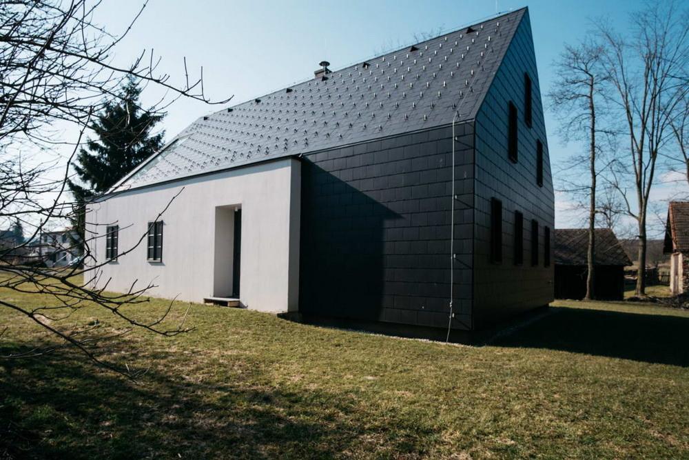 Реконструкция сельского коттеджа в Чехии