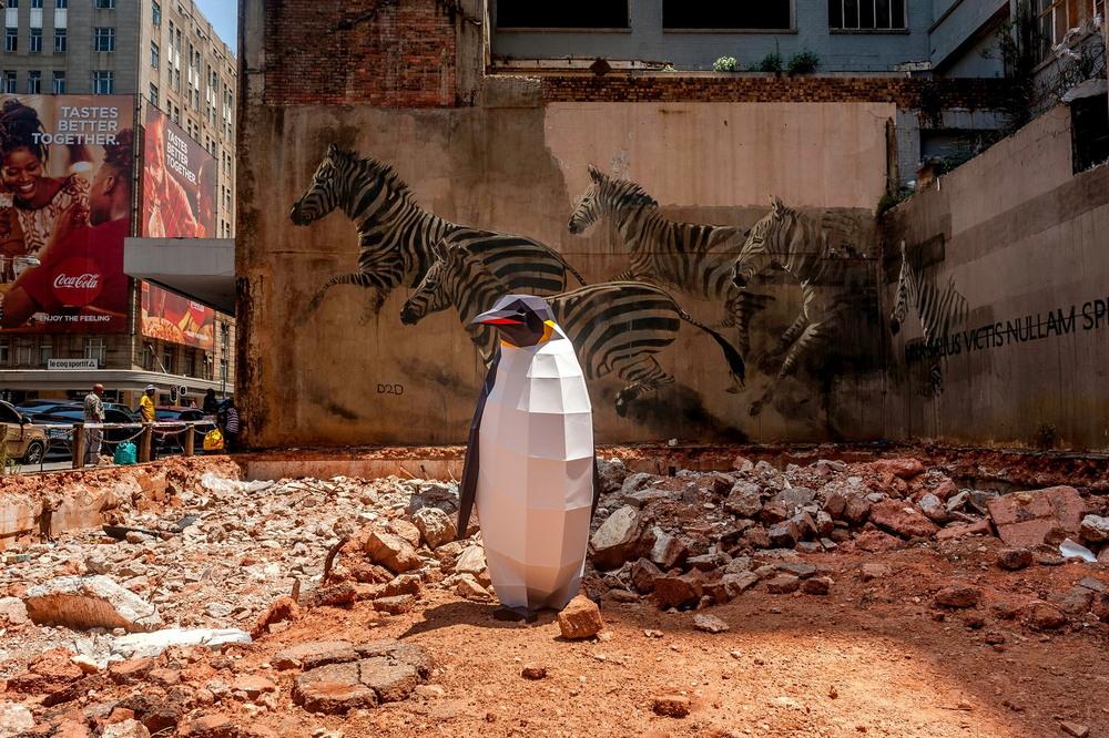 Марш пингвинов в защиту Антарктики