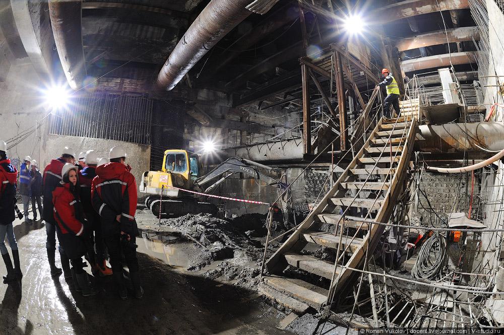 Балтийский тоннель, северо-западная хорда