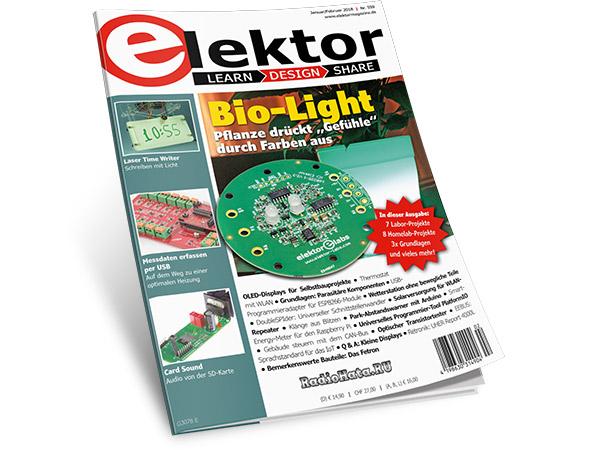 Elektor Electronics №1-2 (Januar-Februar 2018) (Germany)