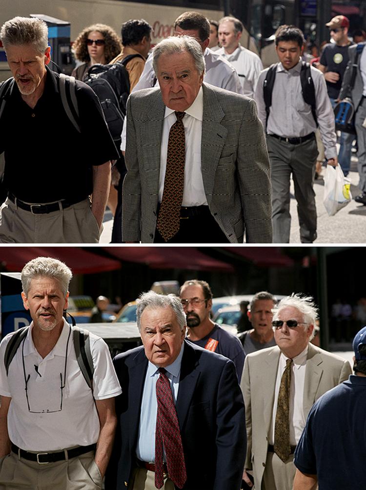 Течение времени: фотограф 9 лет снимал одних и тех же людей, идущих на работу
