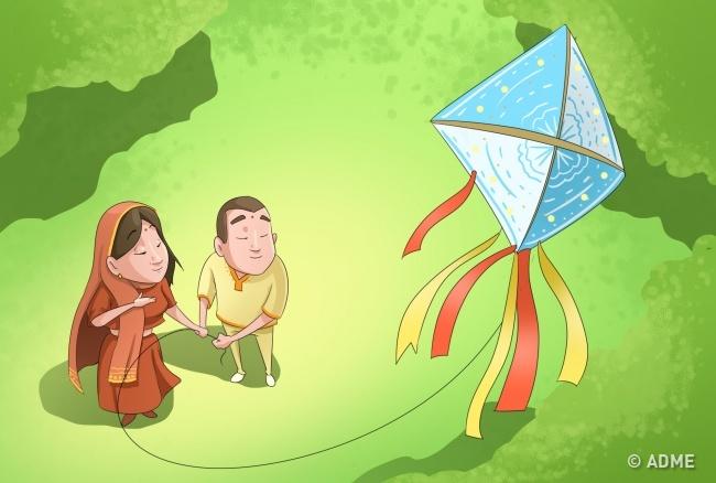 Индия— страна сомножеством культур иобычаев, иновый год здесь встречают несколько раз вгоду. Гу