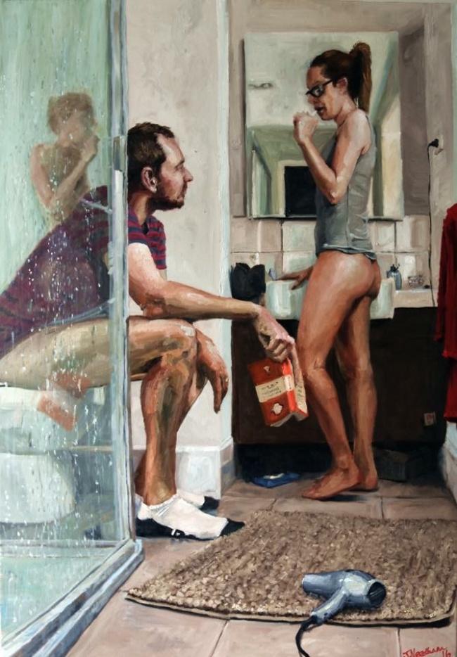 © Indifferentpenguinisnotimpressed/imgur      «Вот что происходит, когда муж идет