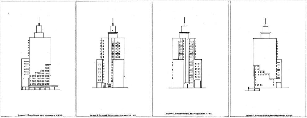 19. Архитекторы вычерчивали и «линии взгляда» — или, по-научному, схему визуальных коммуникаций: как