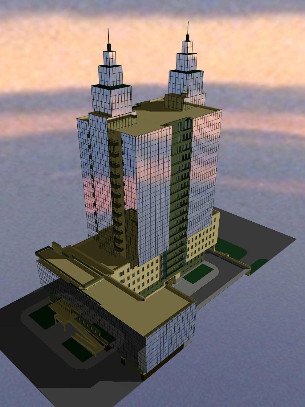 45. К примеру, одна из технологичных задумок — рекуперация тепла в башнях, там планировалось создать