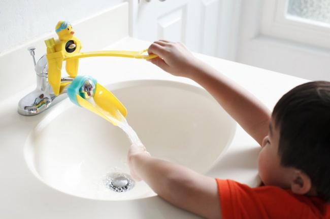 Гаджеты для мытья малышей