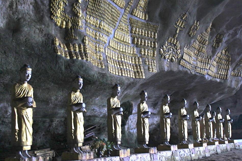 Священное для буддистов место находится внутри подземного скального комплекса в горе Звегабин. Пусты