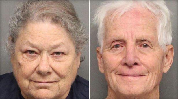 Пожилая пара во второй раз поймана с 27 кг одурманивающих подарков (2 фото)