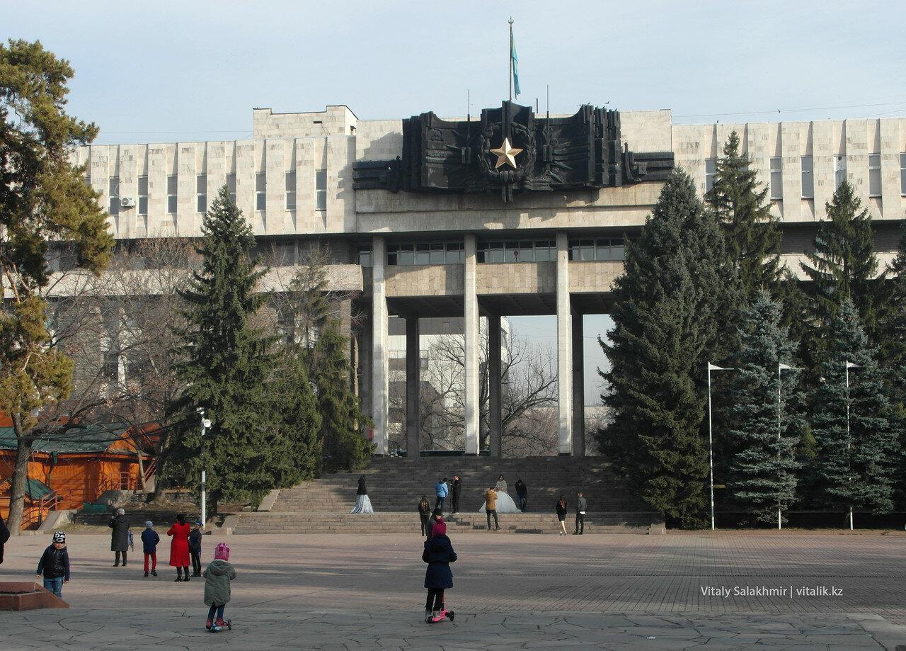 Дом офицеров, Алматы.