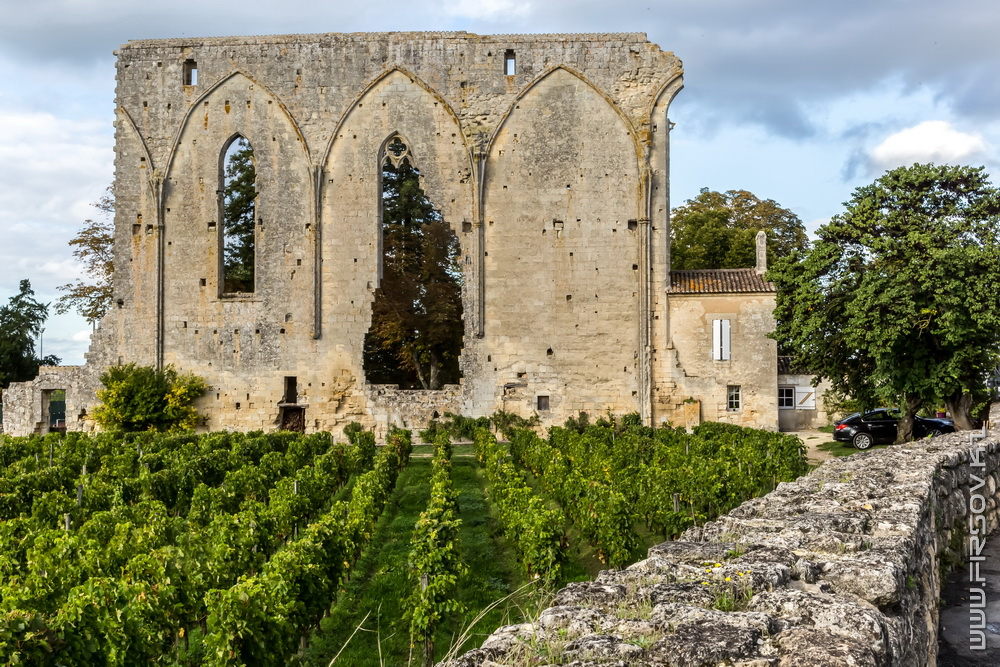 Средневековый Сент-Эмильон