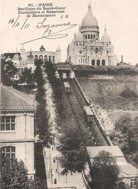 Funiculaire et Reservoir de Montmartre
