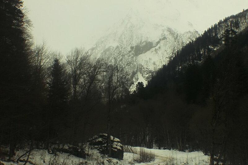 Домбай, 05 декабря 2017 года