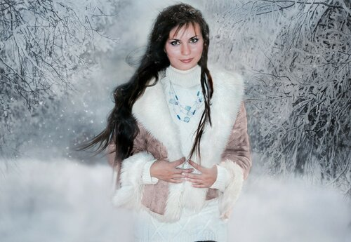 Олия певица (зимняя)