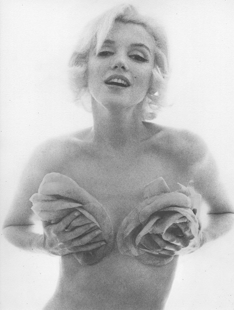 Marilyn Monroe, La Derniere Seance , Bel Air Hotel, Beverly Hills, juillet1962. (© Bert Stern/gale