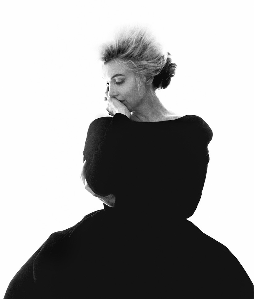 Marilyn Monroe, La Derniere Seance, robe Christian Dior, Bel Air Hotel, Beverly Hills, juillet 1962.