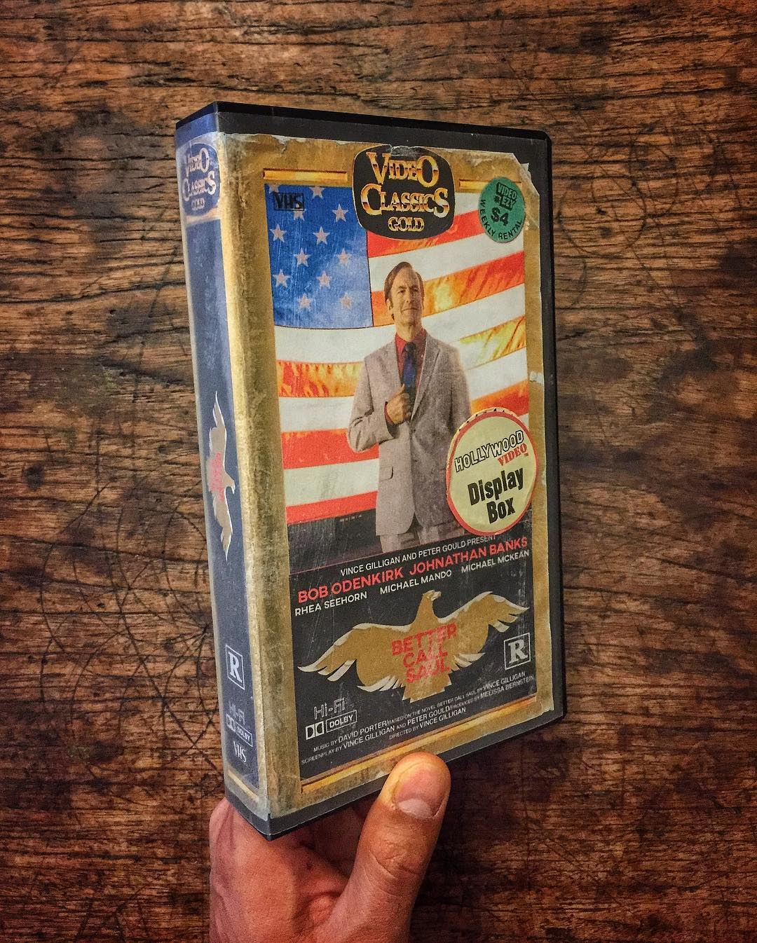 Retro Video Tapes by Steelberg