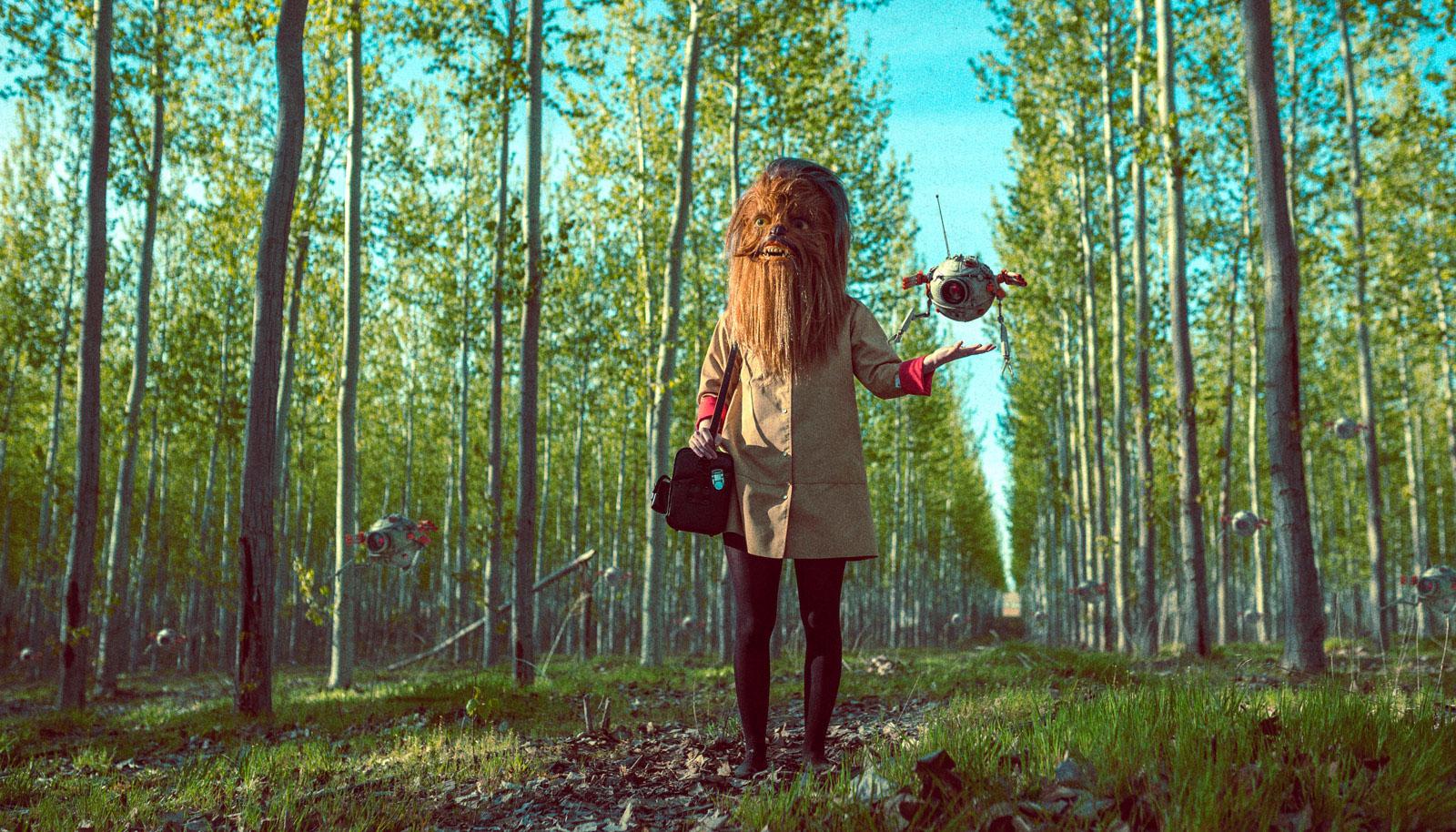 Fantastical Narratives of Strange Creatures and Landscapes