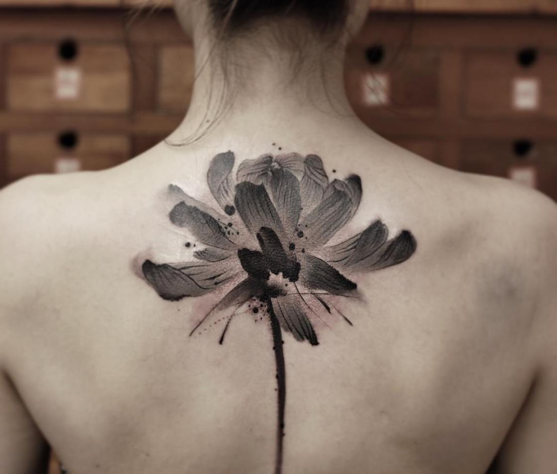 The beautiful Chinese tattoos by Chen Jie are real works of art