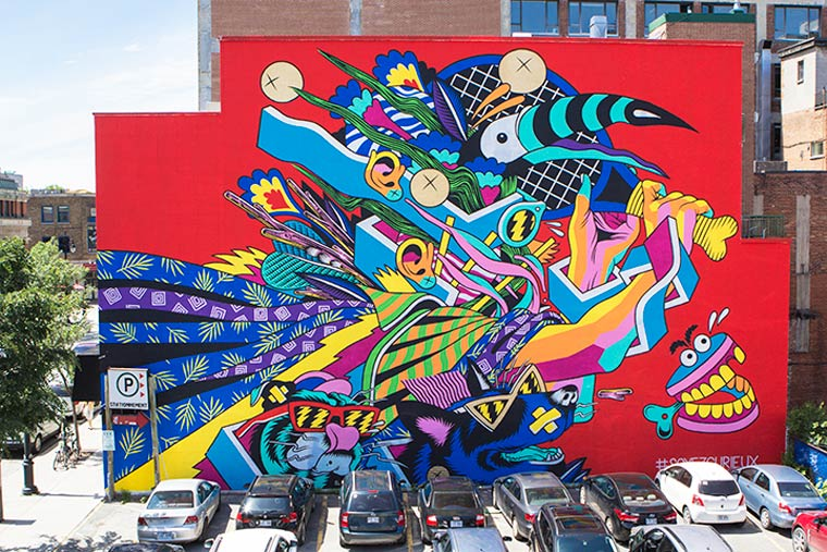 Mural Festival 2015 – A look back on the creations of the street art festival in Montreal (19 pics)