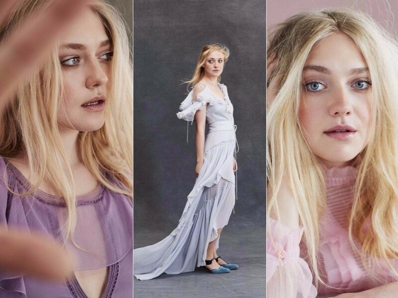 Dakota Fanning для  Marie Claire UK January 2018