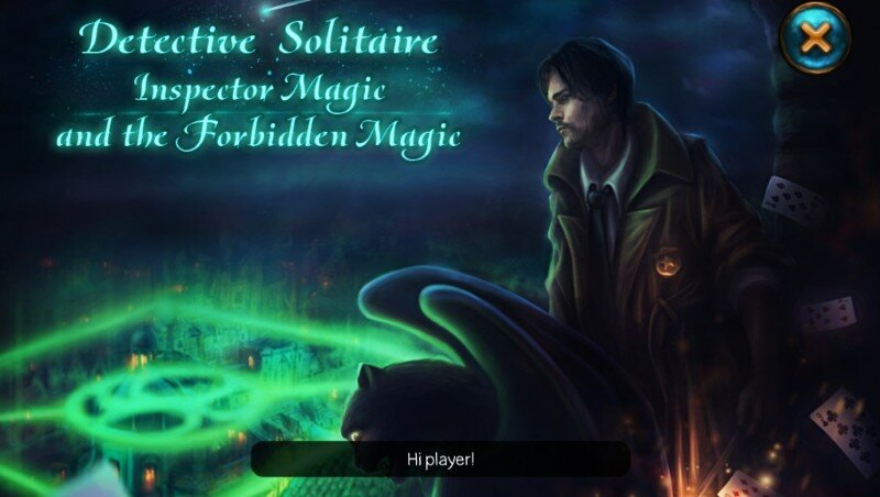 Detective Solitaire 2: Inspector Magic and the Forbidden Magic